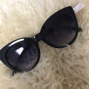 Anthro Black Sunglasses NWT